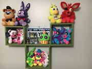 Five Nights At Freddyand039s Fnaf Plushies Only. Set Of 12.