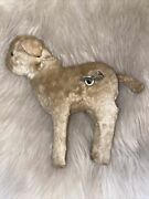 Rare Antique Wind Up Dog Wagging Tail Squeak Bark Japan