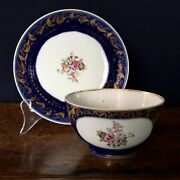 Chinese Export Sugar Bowl And Saucer Dish, 18th Century