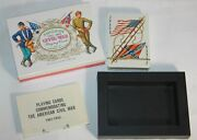 American Civil War Playing Cards Made By H. Fournier Designed By T. Miciano