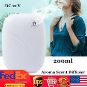 200ml Aroma Diffuser Air Aromatherapy Purifier Fragrance Machine Wall-mounted Us
