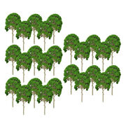 25x Diy 1/50 -1/75 Scale Model Mulberry Trees For Garden Building Landscape