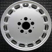Mercedes-benz 300d All Silver 15 Inch Oem Wheel 1986 To 1989