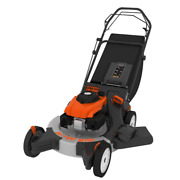 26 In. 208 Cc Gas Walk Behind 3-in-1 Wide Area Self Propelled Lawn Mower Rear Wh