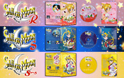Sailor Moon The Movies - Trilogy 3 Dvds
