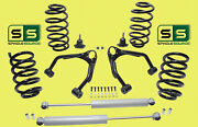 3/4 Drop Kit V8 Fr And Rr Coils Upper Arms Rr Shocks Fits 07-14 Gm And Gmc Suvand039s