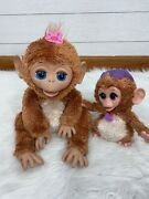 Furreal Friends My Giggly Monkey Pet And Baby Cuddles