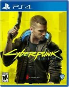 Cyberpunk 2077 Used Sealed Sony Playstation 4 2020 Ps4