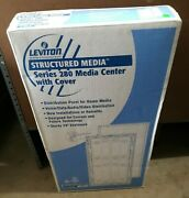 Leviton 28 Structured Media Center With Cover White Series 280 47605-28w New