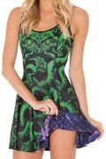 Cthulhu Vs Haunted House Inside Out Dress   Black Milk Clothing   Size S   Rare