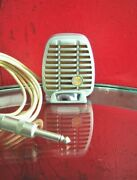 Vintage Rare 1950s Rca Mi-12014-a / Shure 510as Controlled Reluctance Microphone