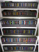 Nintendo Nes Game Collection - 205 Classic Games - Good Shape - Dust Sleeves