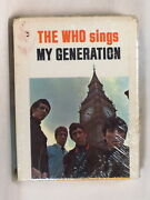 The Who - Sings My Generation 1975 Uk 8-tr Tape Factory Sealed Pete Townshend