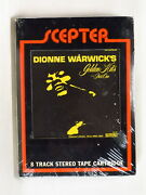 Dionne Warwick - Golden Hits I 1968 Us 8-tr Tape Factory Sealed B Bacharach