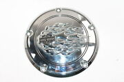 Harley Road King Classic Flhrci 2005 Flame Clutch Derby Cover