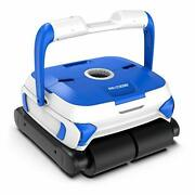 Paxcess Wall-climbing Automatic Pool Cleaner With Twin Large 180um Filter Bas...