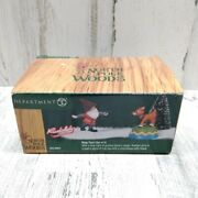 Dept 56 Ring Toss Rudolph North Pole Woods Retired 2002