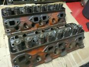50and039s Ford Y-block 256 272 292 Set Of Cylinder Heads Ecg-d