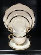 Lenox Presidential China Hancock Four 5 Piece Place Settings Still With Tags