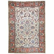 Hand-knotted Afghan Tribal Oushak Design 100 Wool Rug 8.1 X 11.11 Cwral-7977
