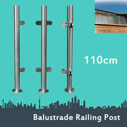 Glass Clamps Railing Stair Pool Balustrade Fence Post Railing Stainless Steel