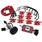 Msd 60152 Direct Ignition System Kit, Sbf, 289-302, Red