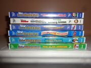 Disney Little Einsteins Brand New Lot Of 6 Dvdand039s Extremely Rare Factory Sealed