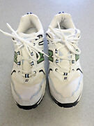 New Balance 1007 White Leather And Mesh Running Shoes Women's 13 D Wide
