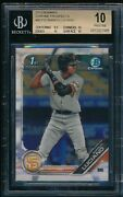 Bgs 10 Marco Luciano 2019 Bowman Chrome Prospects Giants Rookie Card Rc Pristine