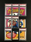 Wacky Packages 1974 Series 9 Complete Puzzle Set 7 Of 9 Psa