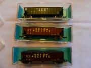 Atlas - N Scale  -  3 Hopper Cars -  2  3263 And 1 3264