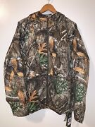 Under Armour Brow Tine Hunting Hoodie Real Tree 1316696-991 Womens Size Xxl