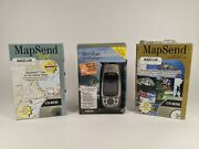 Magellan Meridian Color Handheld Gps 12 Channels Tested W/ Extras Free Shipping