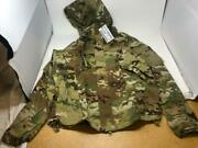 New Army Ocp Multicam Level 5 Soft Shell Jacket Cold Weather Top - Med/reg