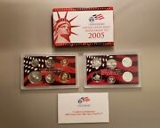 2005 S Us Mint Silver Proof Set With Original Box And Coa