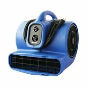 Xpower X-800tf 3/4 Hp Air Mover Carpet Dryer Floor Fan Utility Blower - Wi...