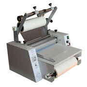 A3 Hot Cold Laminator Machine 365mm Single And Double Side Roll Laminating Machine
