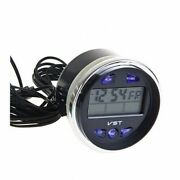 Car Dashboard Clock Round Thermometer-voltmeter Lada Niva 2121 2106 2101 D=60mm
