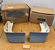 Nos Ford 1969-70 Shelby Gt Sportsroof Quarter-extentions Left And Right Frp Nib