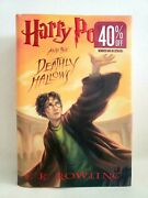 New Harry Potter And The Deathly Hallows 1st Edition/ 1st Printing Unread