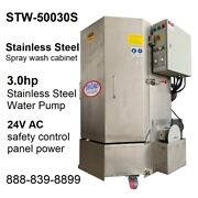 Spray Wash Cabinet Stainless Steel Parts Washer Cabinet Stw-50030s - 1250lb Cap