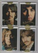 1996 Sports Time The Beatles 24kt Signature Cards Rare