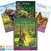 Childrens Spirit Animal Cards Blue Angel By Dr. Steven Farmer And Guidebook New