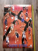 Lot Of 12 Used Vintage Sports Wall Posters Nba Nfl Mlb Basketball Football
