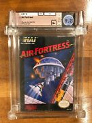 Air Fortress Nintendo Nes1989 Brand New Factory Sealed Graded Wata 9.2 / B+