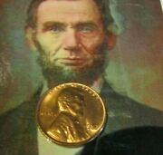 1951-p 51-s 53-p 53-d 1954-s Lincoln Cent Red Bu