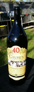 40th Anniversary 3 Liter Caymus Wine Bottle Chuck Wagner Signed Empty Bottle