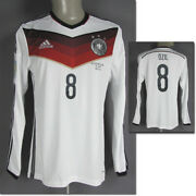 World Cup Football Coupe Du Monde 2014 Dfb Match Issued Joueurs T-shirt