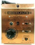 Mrc Model 600 Modelpack Ho Scale Toy Transformer Power Pack Train Accessories