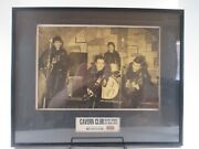 Signed Pete Best Poster Framed W/ Brick From Cavern Club The Beatles Ltd Display